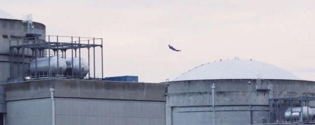Drone Superman - Centrale nucléaire du Bugey - 1